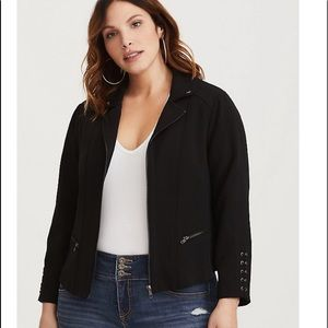 Torrid Moto jacket sz 3 NEW WITH TAGS